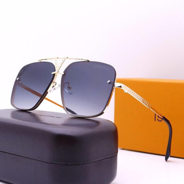 7 Colors Metal Double Bridge Frame Sunglasses