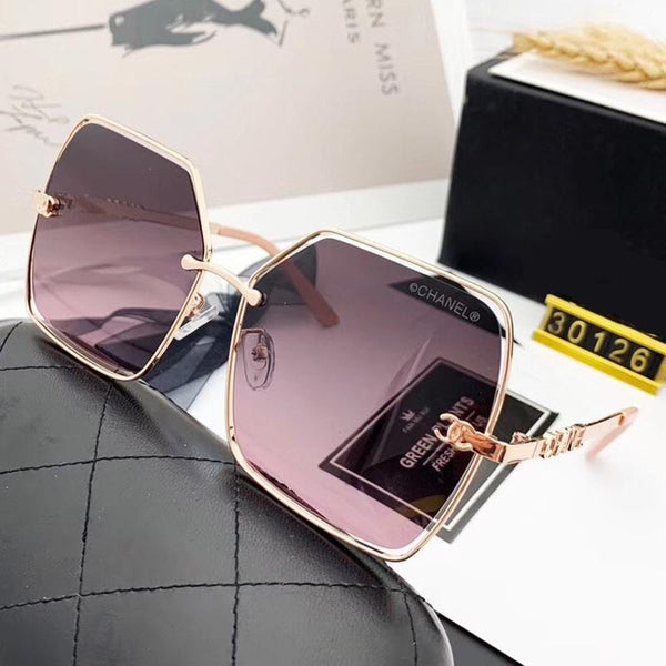 5 Colors Thin Metal Frame Polarized Sunglasses