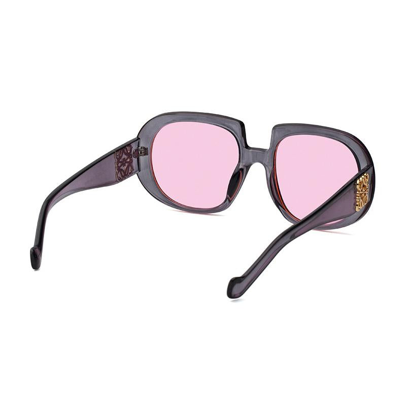 7 Colors Retro Adornment Round Sunglasses