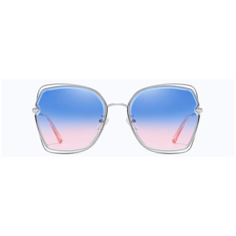 3 Colors Ocean Metal Hollowing Sunglasses