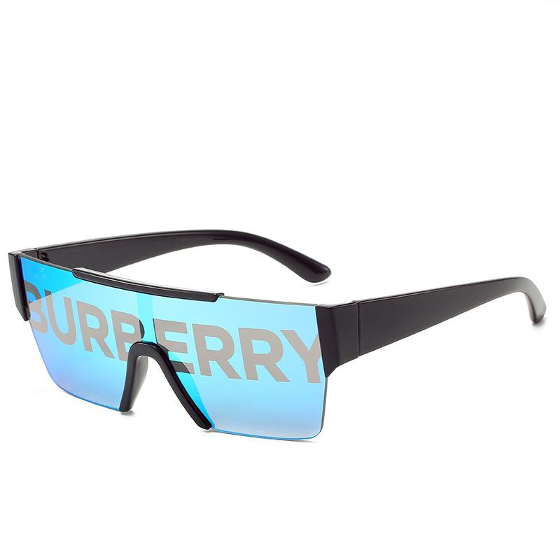 4 Colors Sport Style Conjoined Sunglasses