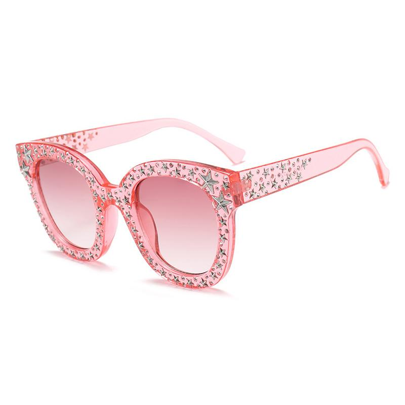 7 Colors Diamond and Stars Fashion Sunglasses