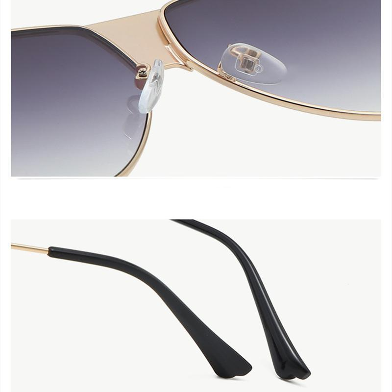 7 Colors Classic Metal Frame Sunglasses