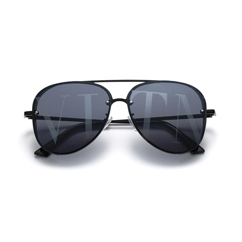 6 Colors Fashion Punk Style Metal Frame Sunglasses