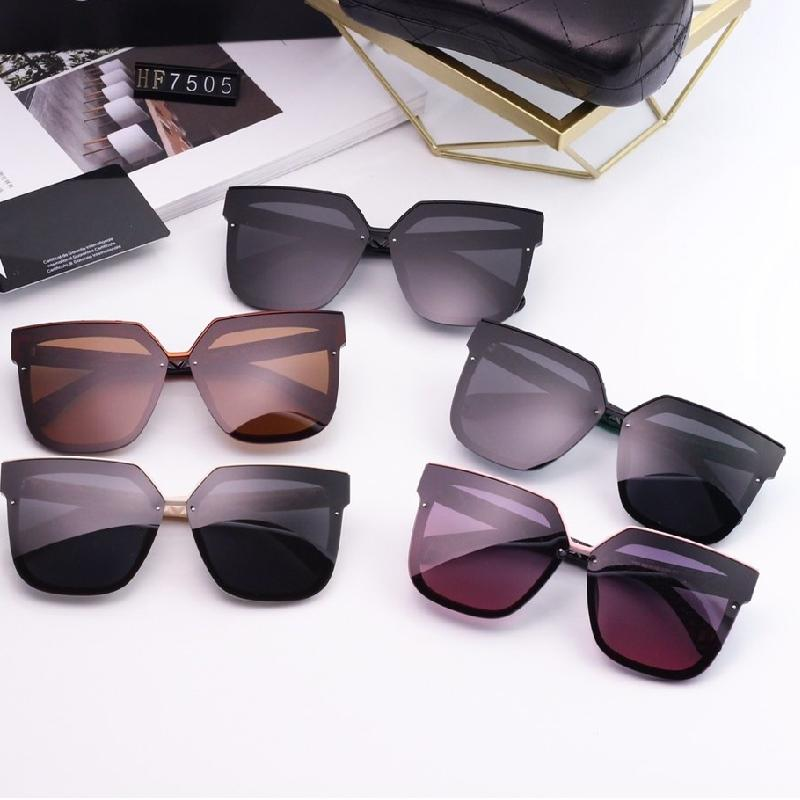 5 Colors Rhombic Pattern Leg Polarized Sunglasses