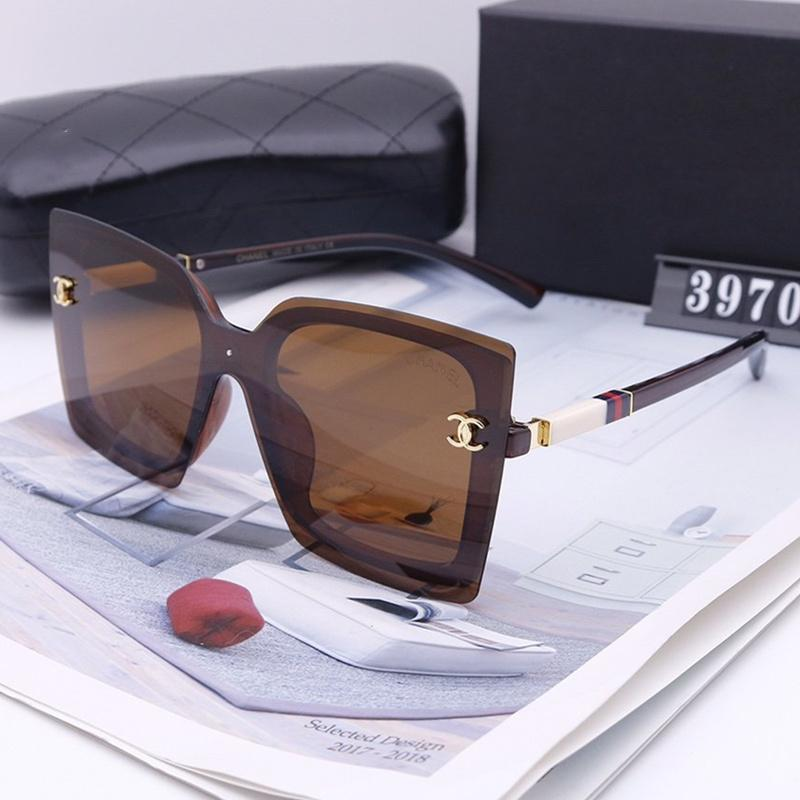5 Colors Stripe Decoration Square Polarized Sunglasses