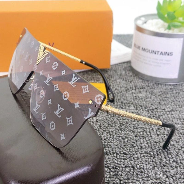 5 Colors Classic Watermark Frameless Sunglasses