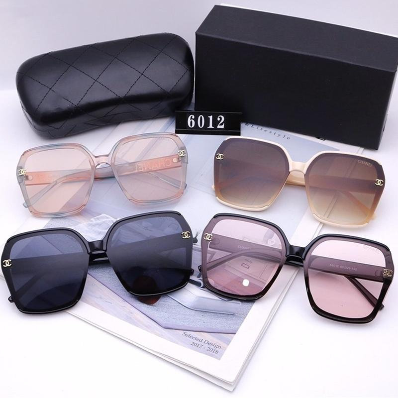 4 Colors Fashion Gradients Square Sunglasses
