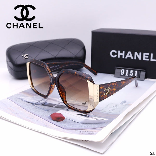 Trendy Big Frame Letter Glasses