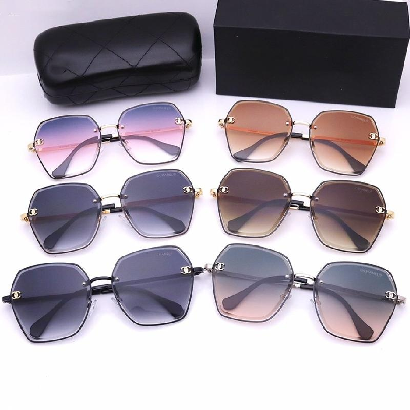5 Colors Gradients Irregular Ocean Lens Sunglasses