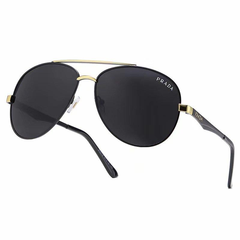 4 Colors Classic Double Bridge Metal Frame Sunglasses