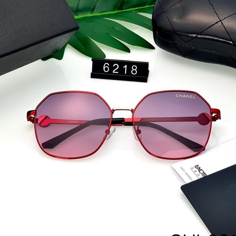 6 Colors Retro Metal Thin Frame Polarized Sunglasses
