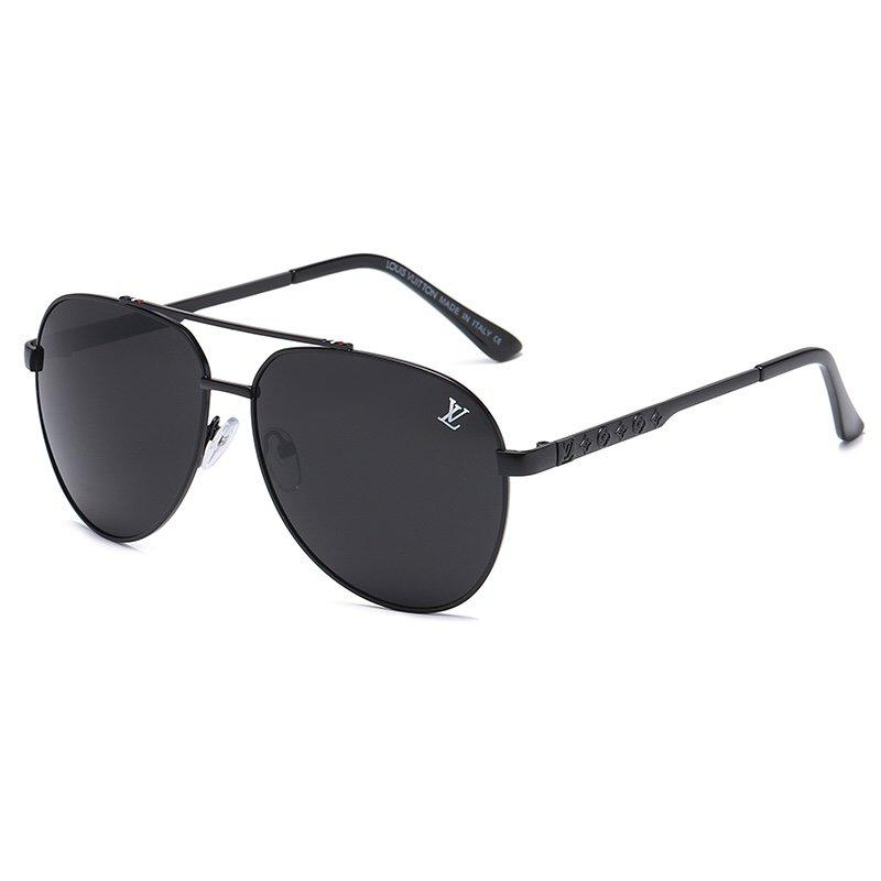 4 Colors Classic Double Bridge Big Frame Sunglasses