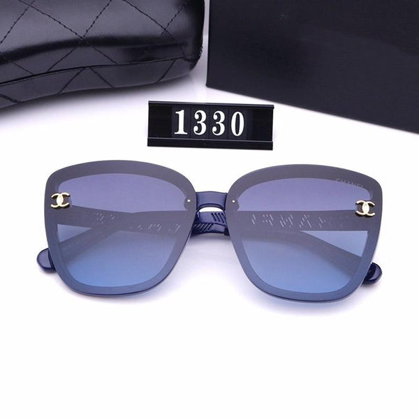 5 Colors Gravure Characters Classic Sunglasses