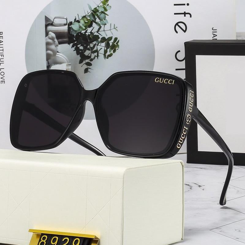 4 Colors Letter Frame Sunglasses