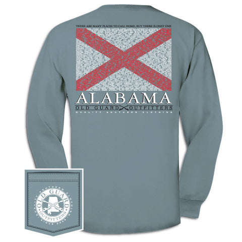 Alabama City Flag Long Sleeve