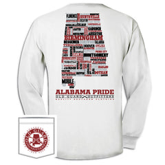 Alabama Letterpress Long Sleeve