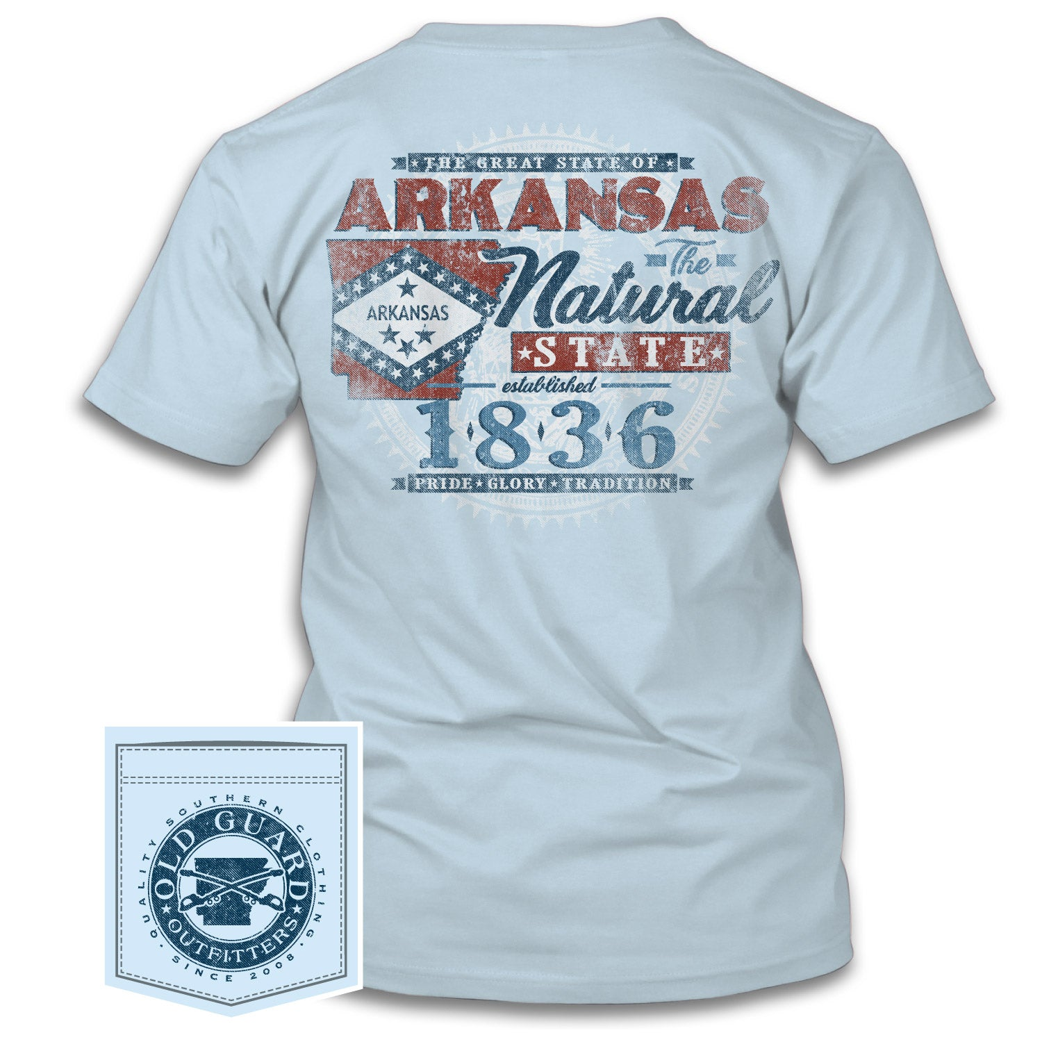 arkansas state seal old guard outfitters