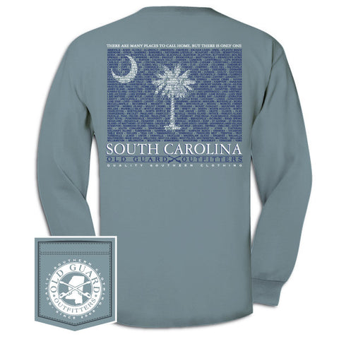 South Carolina City Flag Long Sleeve