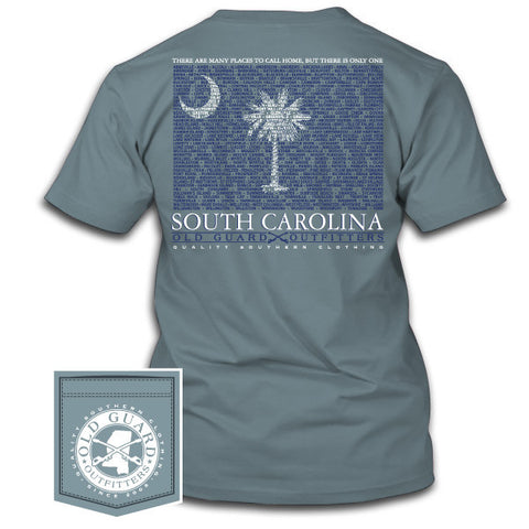 South Carolina City Flag