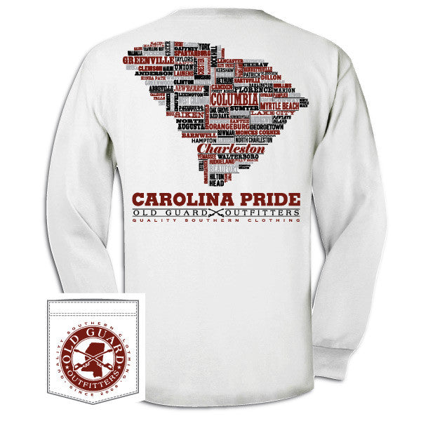 South Carolina Letterpress Long Sleeve