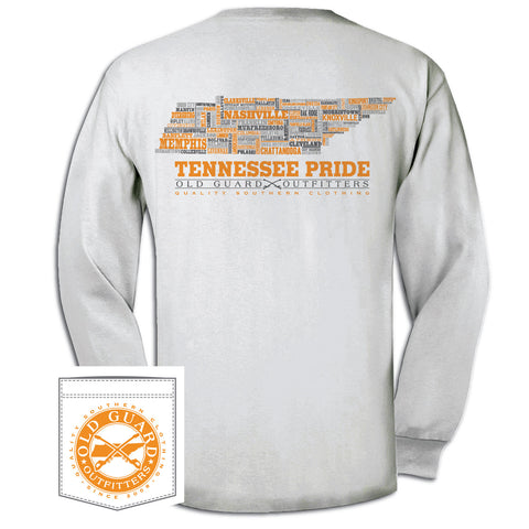 Tennessee Letterpress Long Sleeve