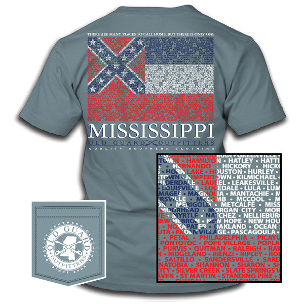 Mississippi City Flag