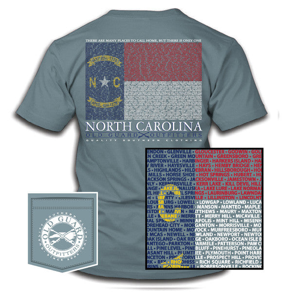 North Carolina City Flag