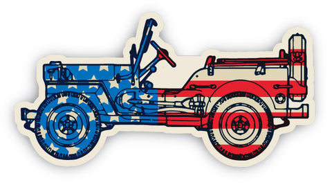 Willys Sticker
