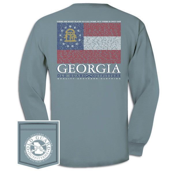 Georgia City Flag Long Sleeve