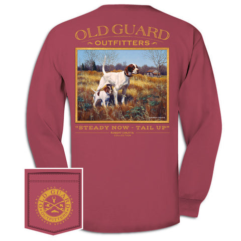 Steady Now, Tail Up - Long Sleeve