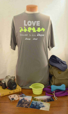 Shape of Adoption - TShirt - Mens