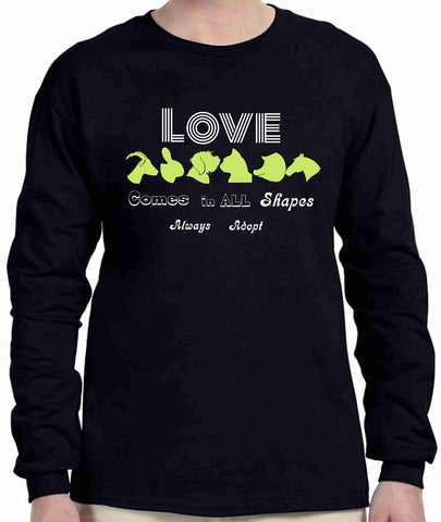 Shape of Adoption - Long Sleeve