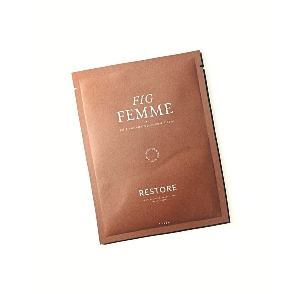 Image of Fig Femme Restore vulva mask for intimate care