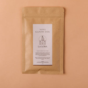 Packet of all natural powder for balancing vulvo-vaginal health