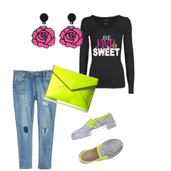 Cooki Bloom I Do What I Want Jeans Outfit