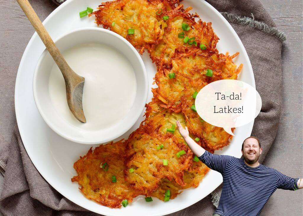 Joel's Duck Fat Latkes