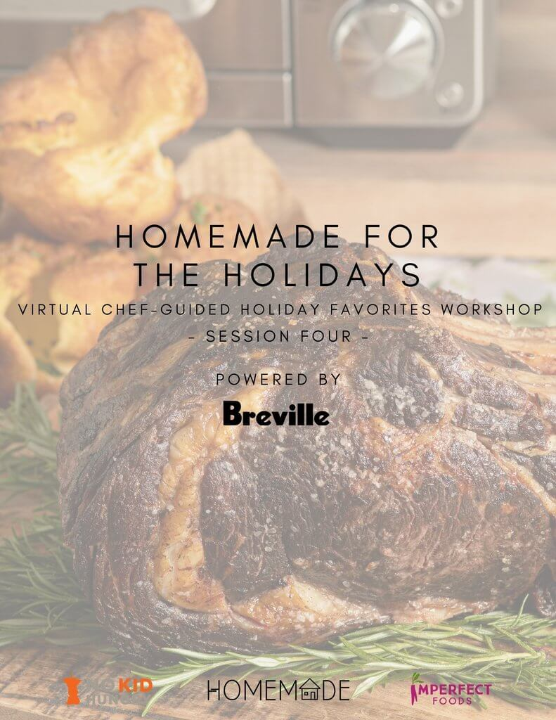 Tiny Table, Big Flavor: Chef Guided Thanksgiving Dinner Workshop (Session Four)