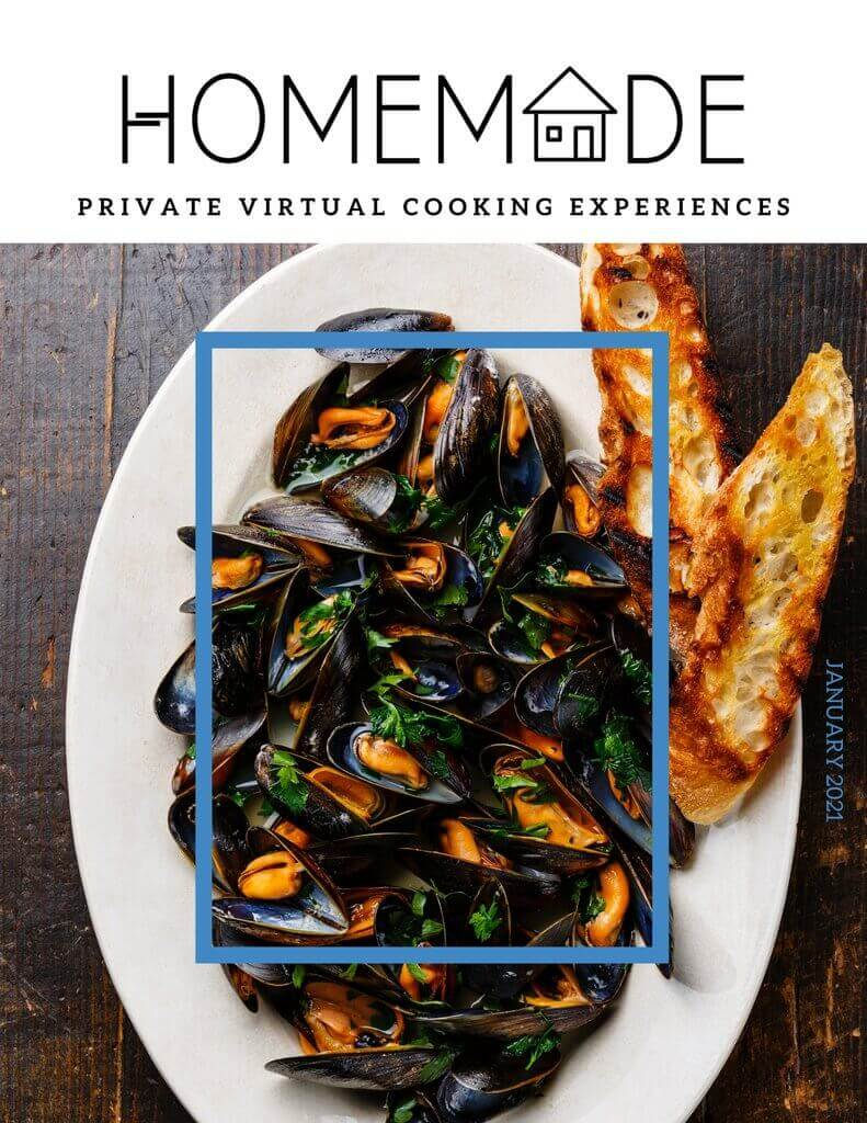 Image of Steamed Mussels on a plate