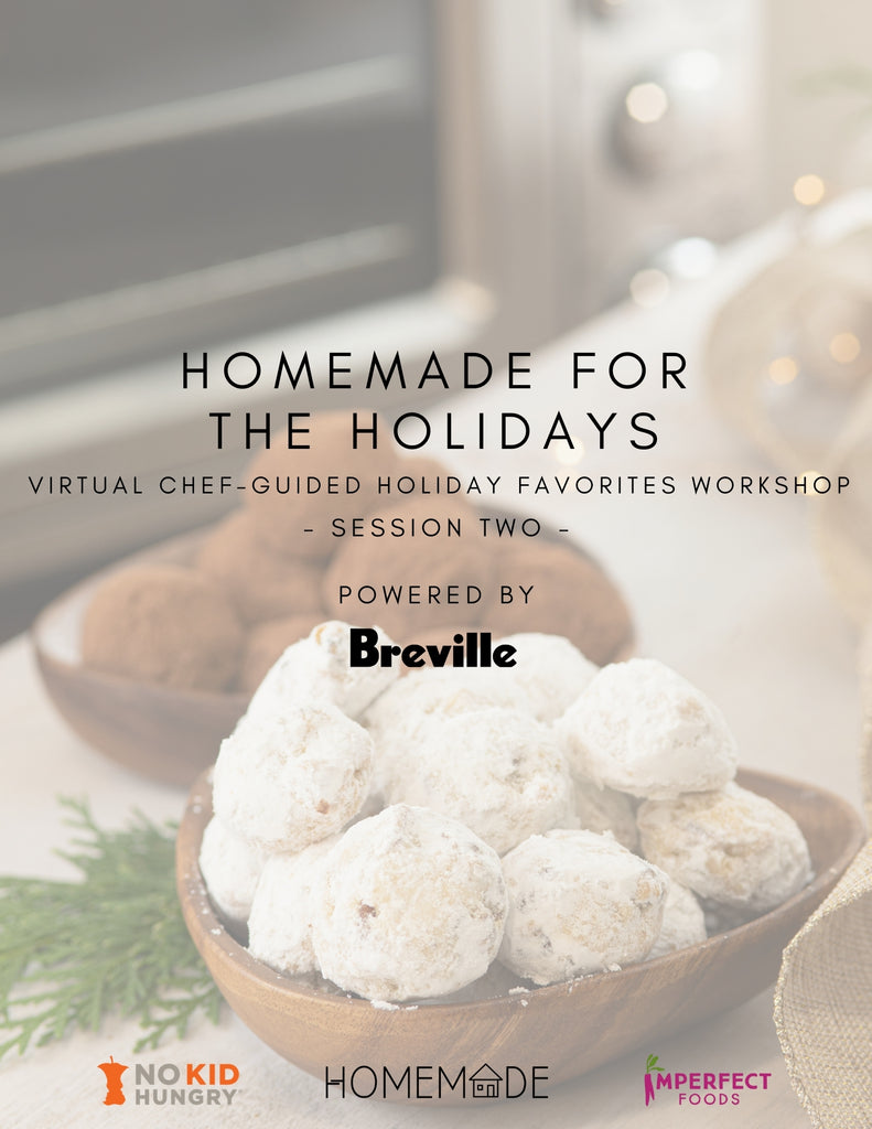 Virtual Chef Guided Holiday Favorites Workshop (Session Two)