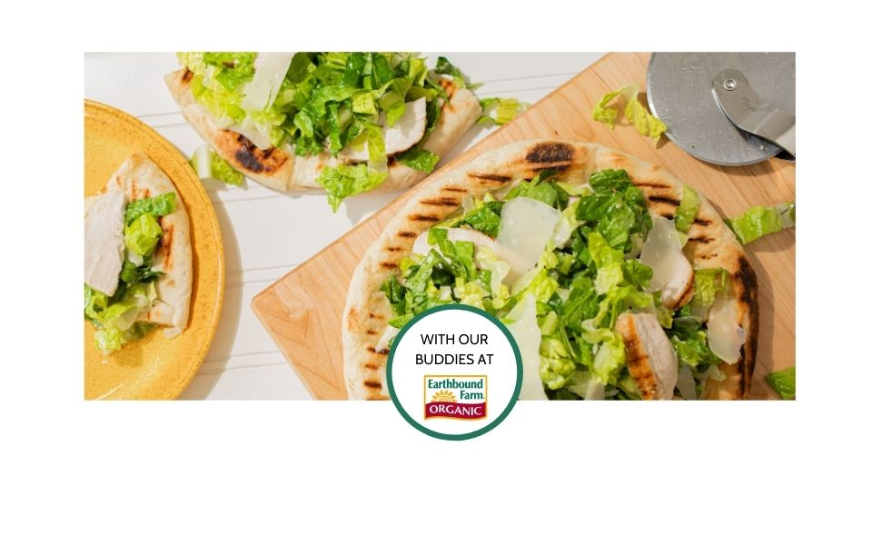 Grilled Chicken Caesar Pizza