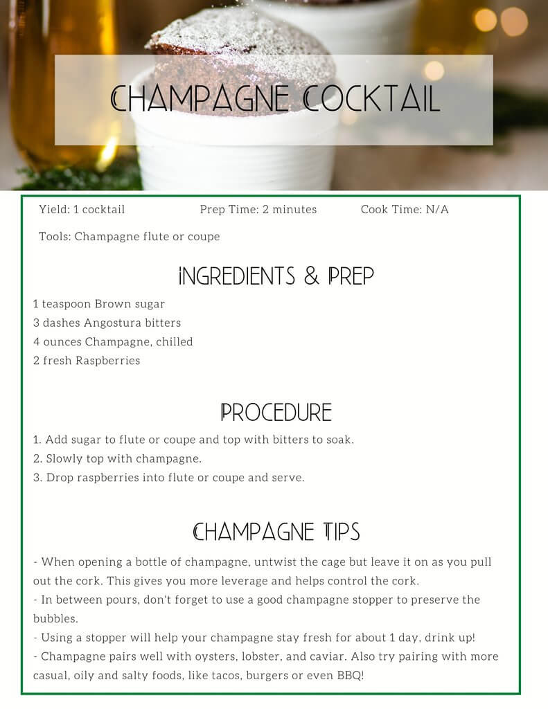 HOMEMADE FOR THE HOLIDAYS: RECIPE PACKET & SHOPPING LIST - SESSION 5