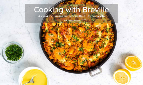 Cooking with Breville