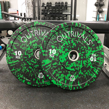 Load image into Gallery viewer, Outrivals Olympic Weight Plates Rubber