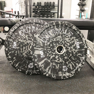 OUTRIVALS Hi-IMPACT OLYMPIC WEIGHT PLATES