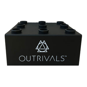 Outrivals 9 Hole Barbell Floor Stand