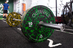 Outrivals Olympic Weight Plates Rubber