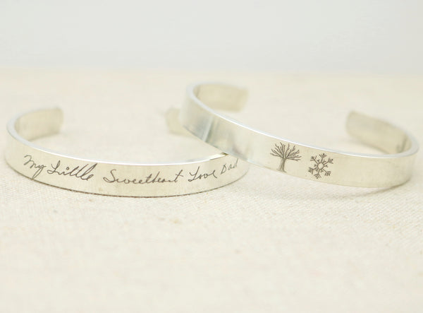Actual Handwriting Cuff