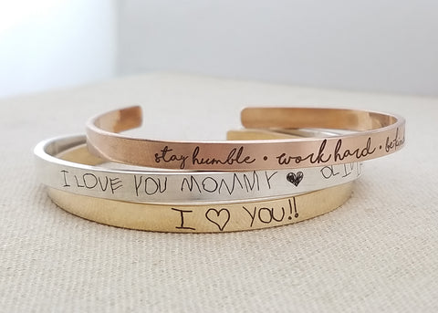 Thin Handwriting Cuff