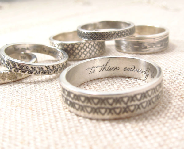 Pattern Secret Message Ring